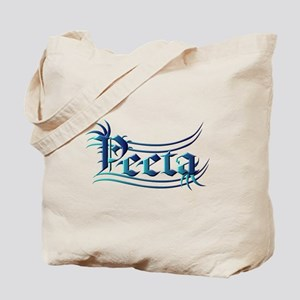 Peeta Lettering Hunger Games Design in Turquoise T