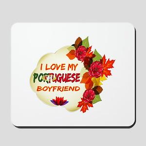 Portuguese Boyfriend designs Mousepad
