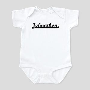 Black jersey: Johnathon Infant Bodysuit