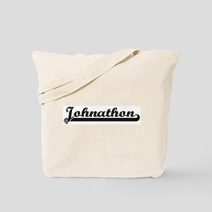Black jersey: Johnathon Tote Bag