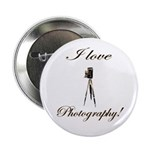 """I love photography - Antique Camera 2.25"""" But"""