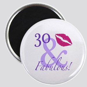 30 And Fabulous! Magnet