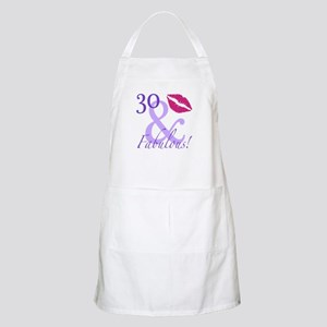 30 And Fabulous! Apron
