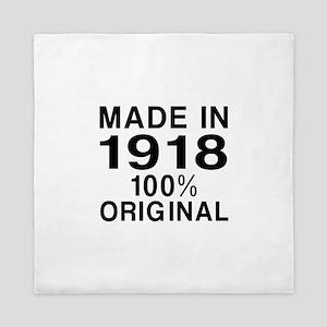 Made In 1918 Queen Duvet