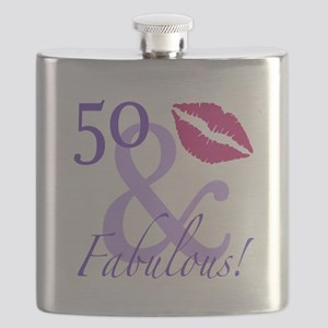 50 And Fabulous! Flask