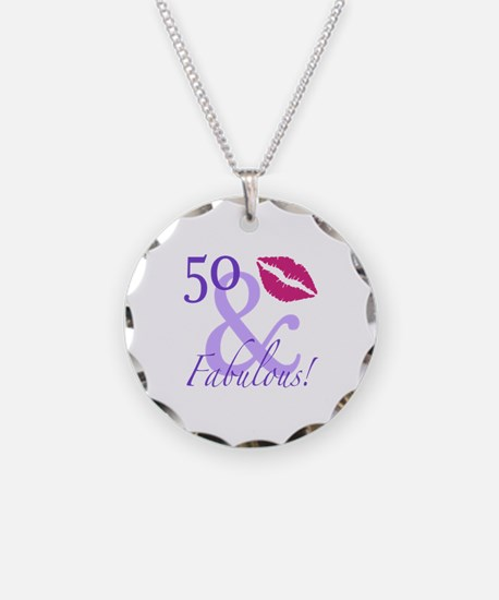 50 And Fabulous! Necklace