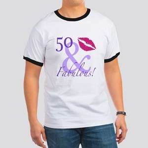 50 And Fabulous! Ringer T
