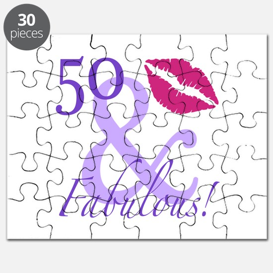 50 And Fabulous! Puzzle