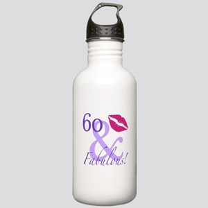 60 And Fabulous! Stainless Water Bottle 1.0L