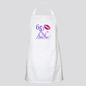 65 And Fabulous! Apron