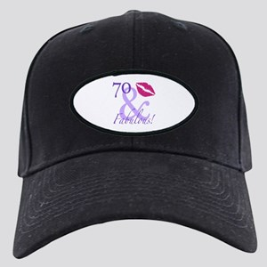 70 And Fabulous! Black Cap