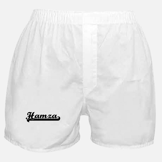 Black jersey: Hamza Boxer Shorts