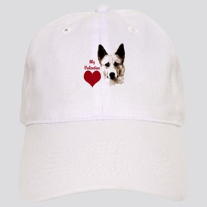 canaan dog valentine Cap