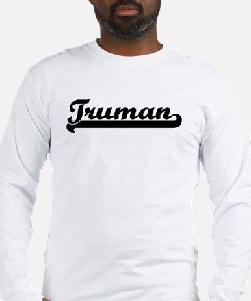 Black jersey: Truman Long Sleeve T-Shirt