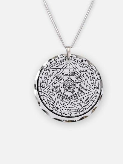 John Dee Heptagon Necklace