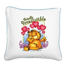 Totally Irresistible! Square Canvas Pillow