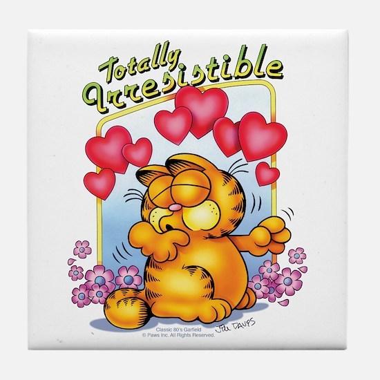 Totally Irresistible! Tile Coaster