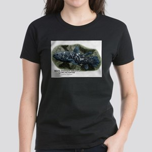 West Indian Ocean Coelacanth Women's Dark T-Shirt
