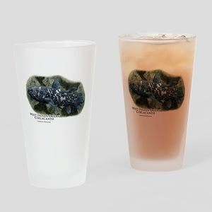 West Indian Ocean Coelacanth Drinking Glass