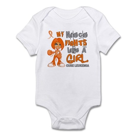 Licensed Fight Like a Girl 42.9 Le Infant Bodysuit