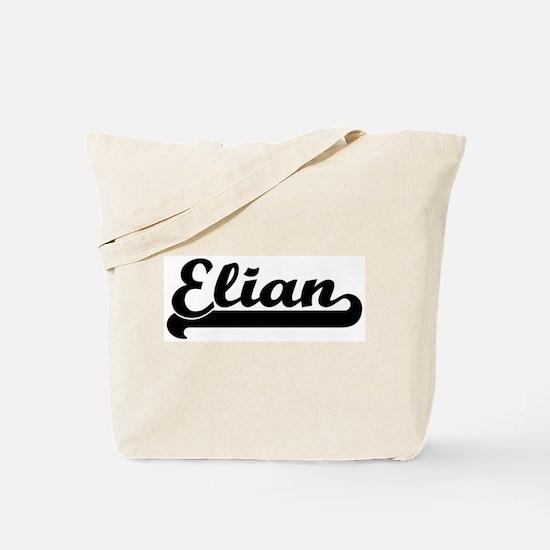 Black jersey: Elian Tote Bag