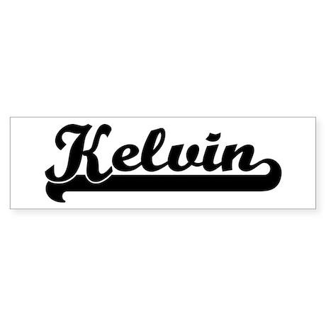 Black jersey: Kelvin Bumper Sticker