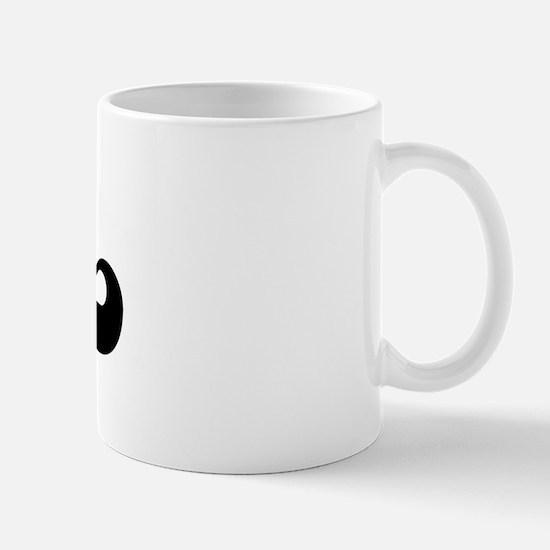 Black jersey: Wm Mug