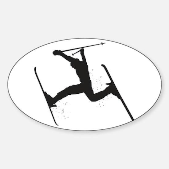 Sky Walker Sticker (Oval)