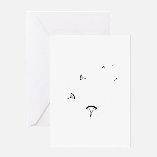 SmokeSwirls Greeting Card