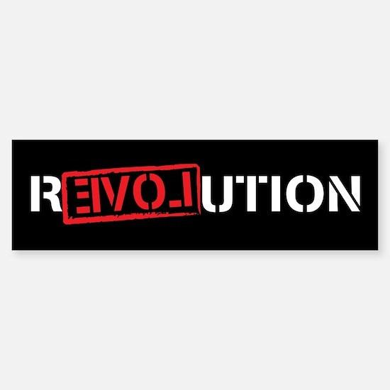 Ron Paul Revolution Sticker (Bumper)