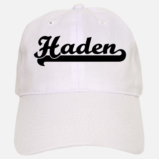 Black jersey: Haden Baseball Baseball Cap