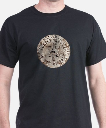 Appalachian Trail Survey Marker T-Shirt