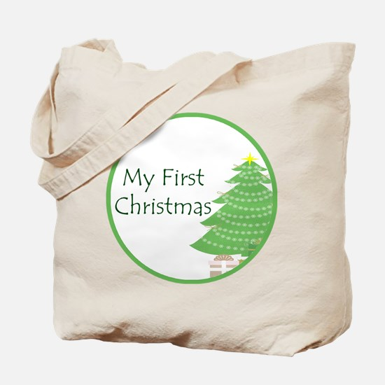 My First Christmas Tote Bag
