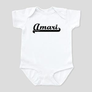 Black jersey: Amari Infant Bodysuit