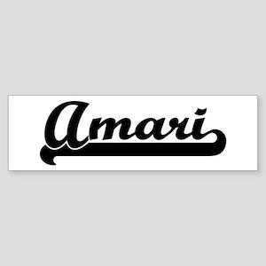 Black jersey: Amari Bumper Sticker