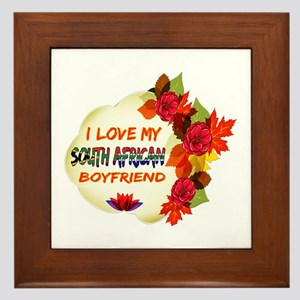 South African Boyfriend designs Framed Tile