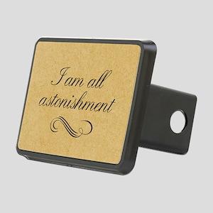 I Am All Astonishment Rectangular Hitch Cover