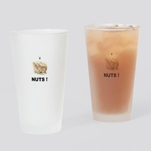NUTS ! Drinking Glass