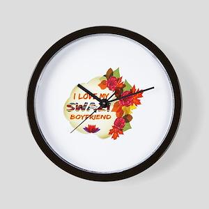 Swazi Boyfriend designs Wall Clock