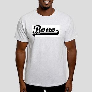 Black jersey: Bono Ash Grey T-Shirt