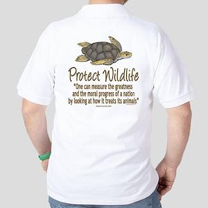 Protect Sea Turtles Golf Shirt