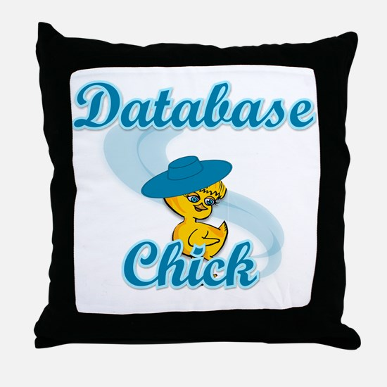 Database #3 Throw Pillow