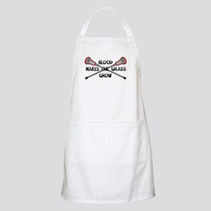Lacrosse blood makes the grass grow Apron