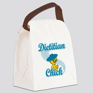 Dietitian Chick #3 Canvas Lunch Bag