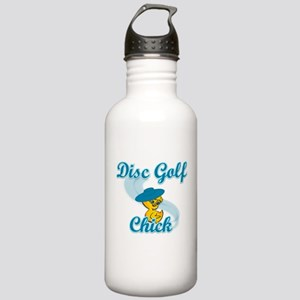 Disc Golf Chick #3 Stainless Water Bottle 1.0L