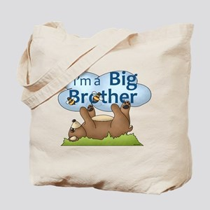 Im a Big Brother Bear Tote Bag