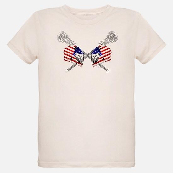 Two Lacrosse Helmets T-Shirt