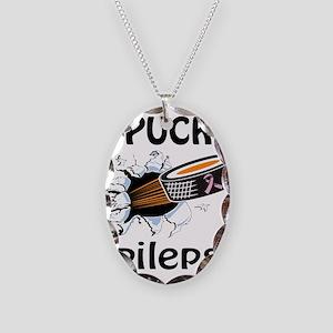 Puck Epilepsy Necklace Oval Charm