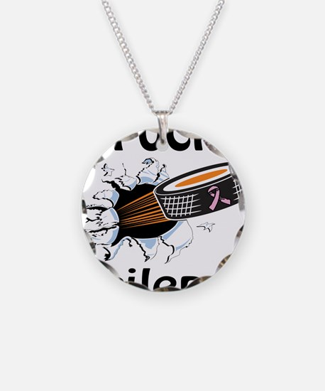 Puck Epilepsy Necklace Circle Charm