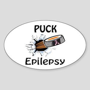 Puck Epilepsy Sticker (Oval)
